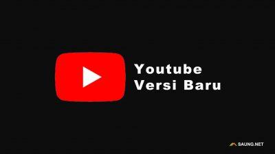 Youtube Versi Baru