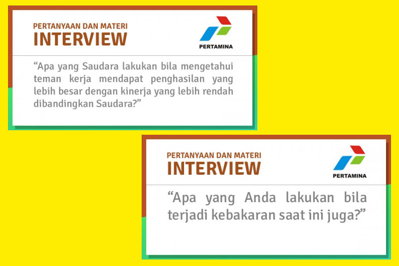 interview pertamina