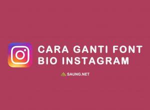 Cara Ganti Font Bio Instagram