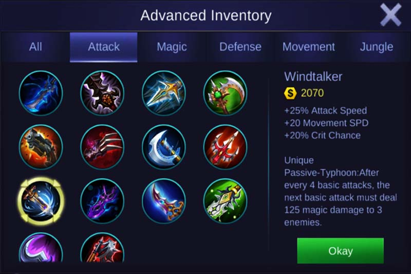 Windtalker Mobile Legends