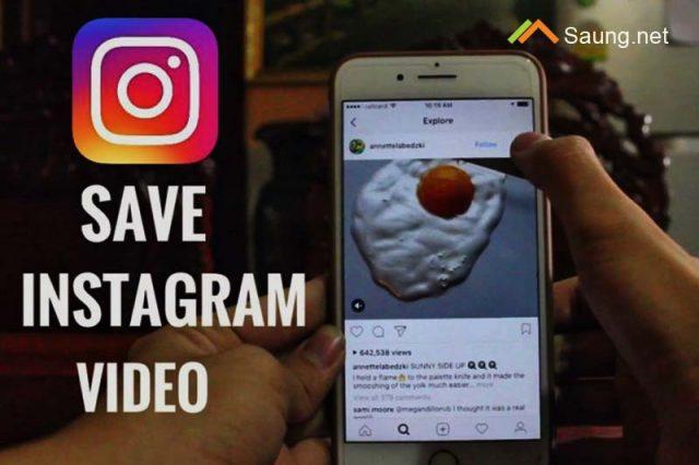Cara Menyimpan Video Instagram