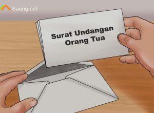 Surat Undangan Orang Tua