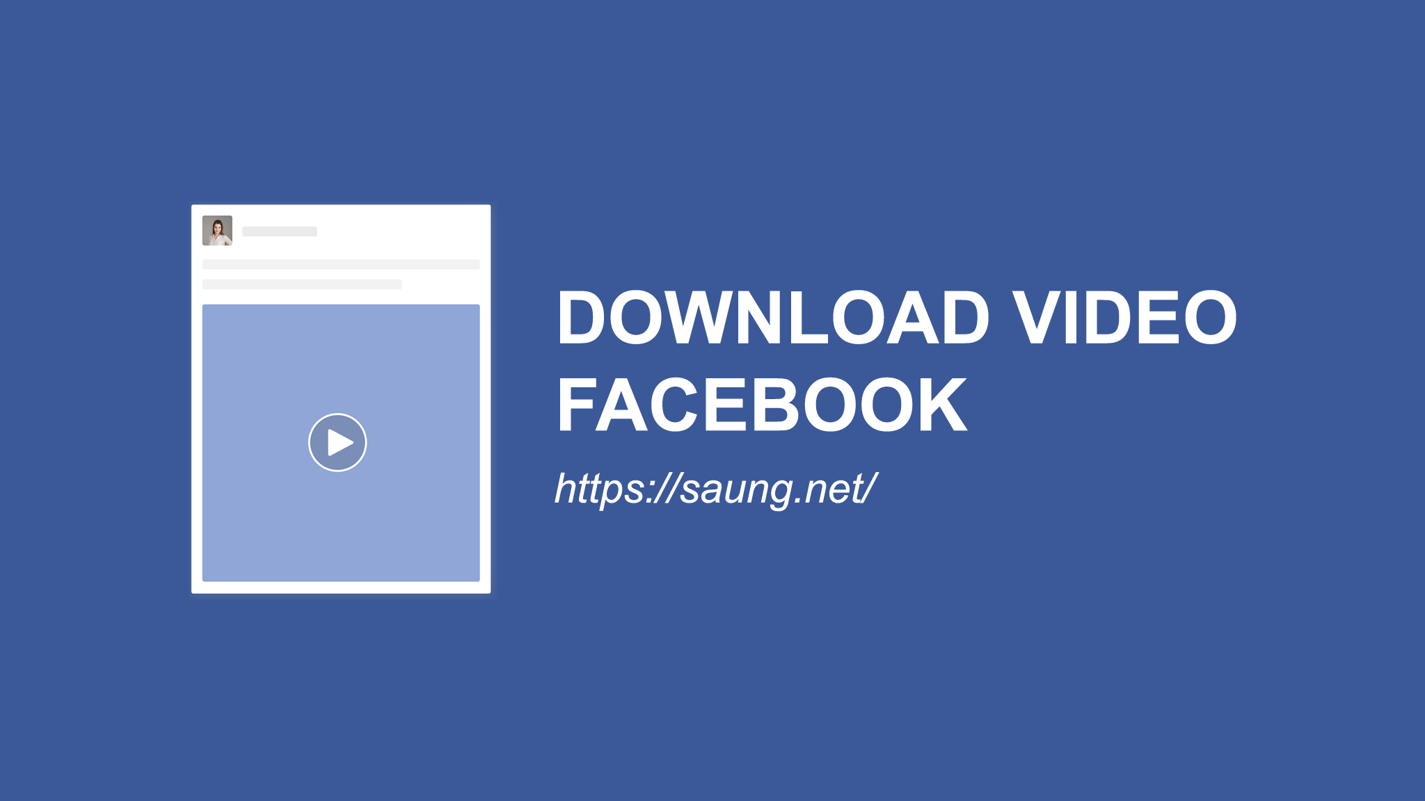 cara download video facebook di iphone 6