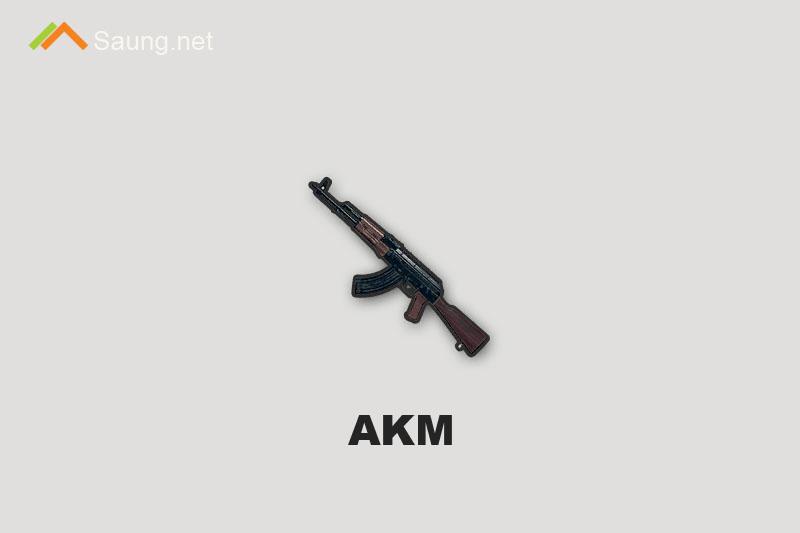 Senjata PUBG Mobile AKM