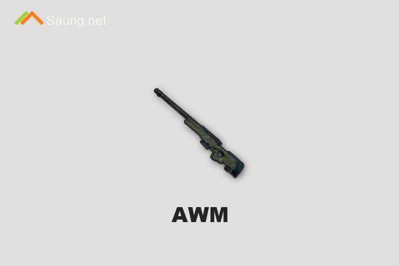 Senjata PUBG Mobile AWM