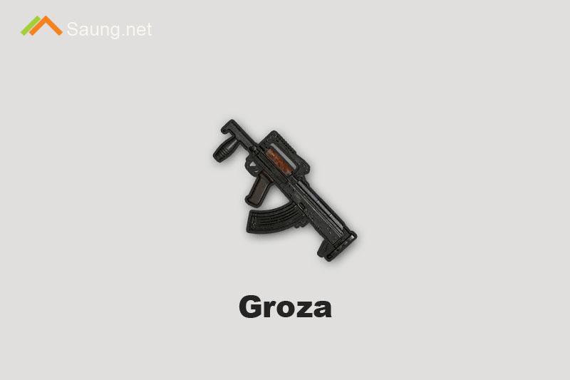 Senjata PUBG Mobile Groza