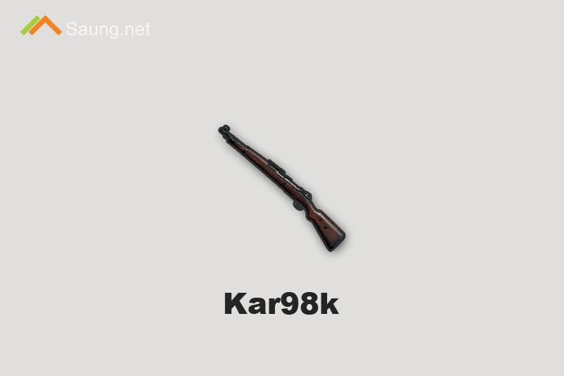 Senjata PUBG Mobile Kar98k