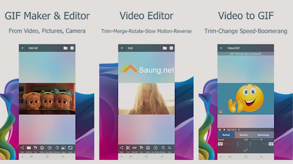 Video2me Pembuat Gif & Editor Video