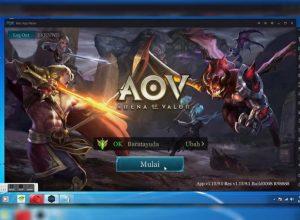 Bermain Game AOV di PC dengan Emulator NoxPlayer