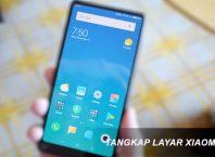 Cara Screenshot Layar Xiaomi
