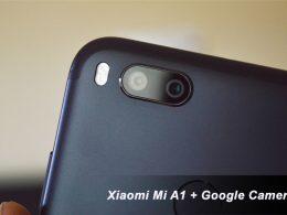 Instal Google Camera di Xiaomi Mi A1