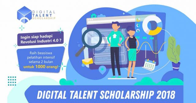 Beasiswa Pelatihan Intensif Digital Talent Indonesia