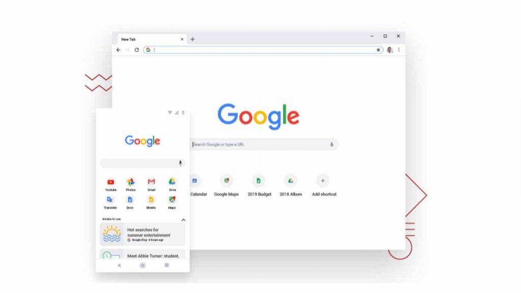 Fitur Google Chrome Mendukung untuk Semua Perangkat