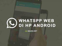 cara menggunakan whatsapp web di hp Android