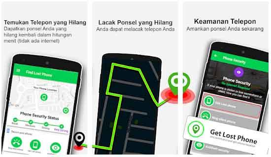 Find Lost Phone adalah aplikasi pelacak hp android terbaik
