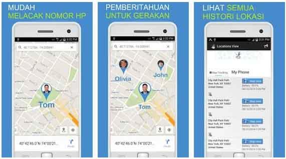Friend Locatorfy aplikasi untuk mencari HP yang dicuri orang