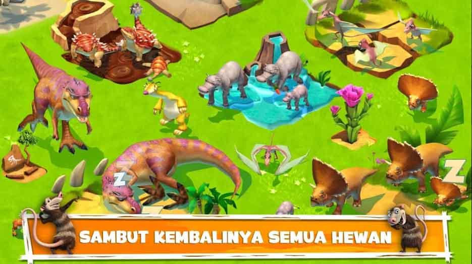 Ice Age Adventures adalah permainan Android offline paling seru