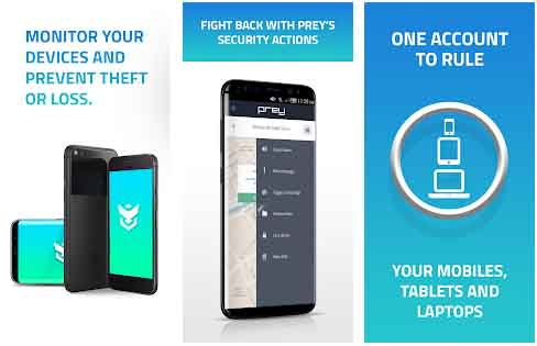 Prey Anti Theft aplikasi untuk mencegah HP hilang