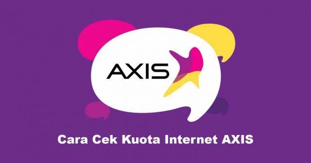 Cara Cek Kuota Internet AXIS