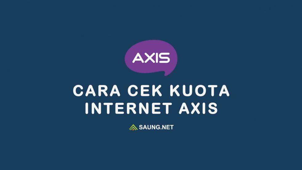 cek kuota axis