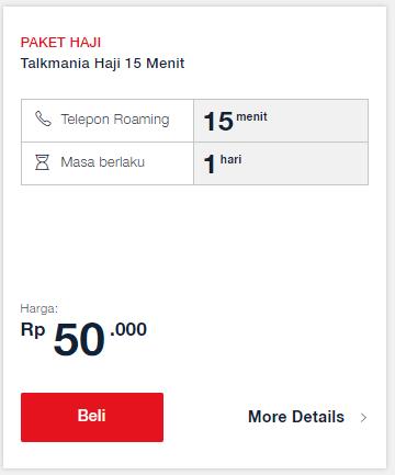 Paket Haji Telkomsel: Talkmania Haji 15 Menit