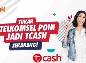 Tukar POIN Telkomsel ke TCASH