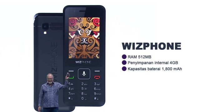 Wizphone ponsel besutan Google