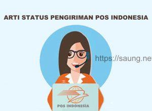 Arti Status Pengiriman POS