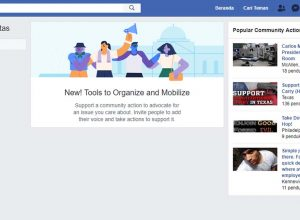 Membuat Petisi di Facebook Community