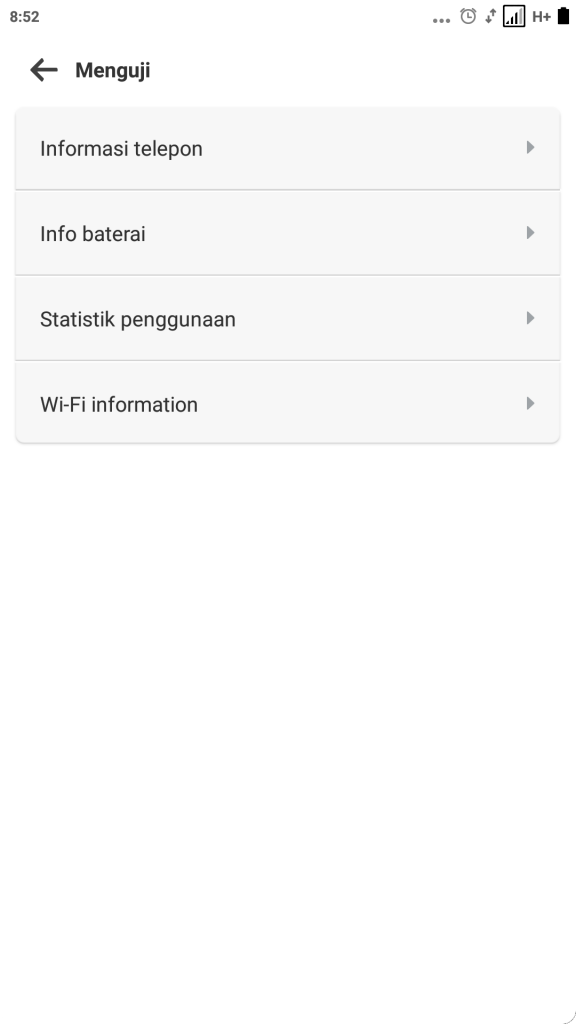 Mengatasi Error 96 SMS Android - Menguji