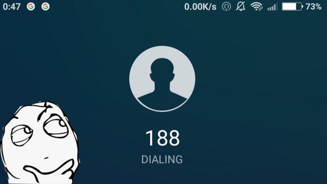 Panggilan dari Nomor 188