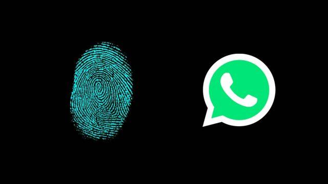 Pemindai Sidik Jari WhatsApp
