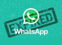 WhatsApp Expired Kadaluarsa