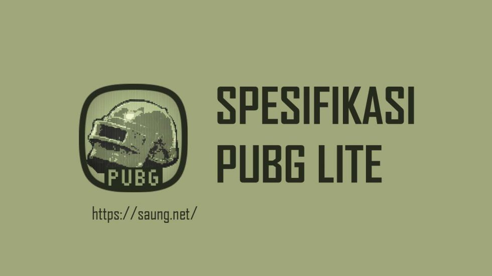 Spesifikasi PUBG Lite