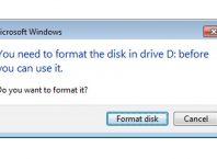cara memperbaiki flashdisk yang minta format