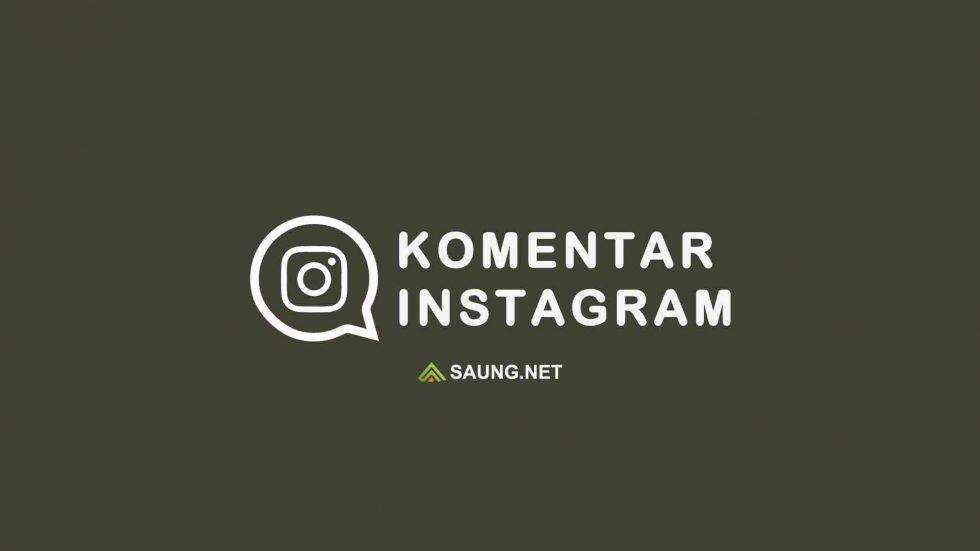 komentar Instagram