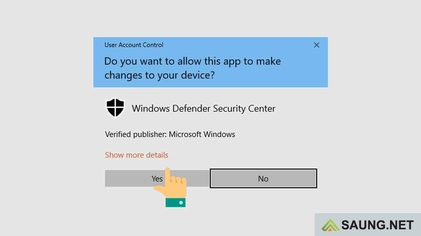 matikan windows defender