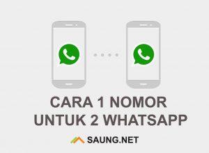 1 Nomor Untuk 2 WhatsApp