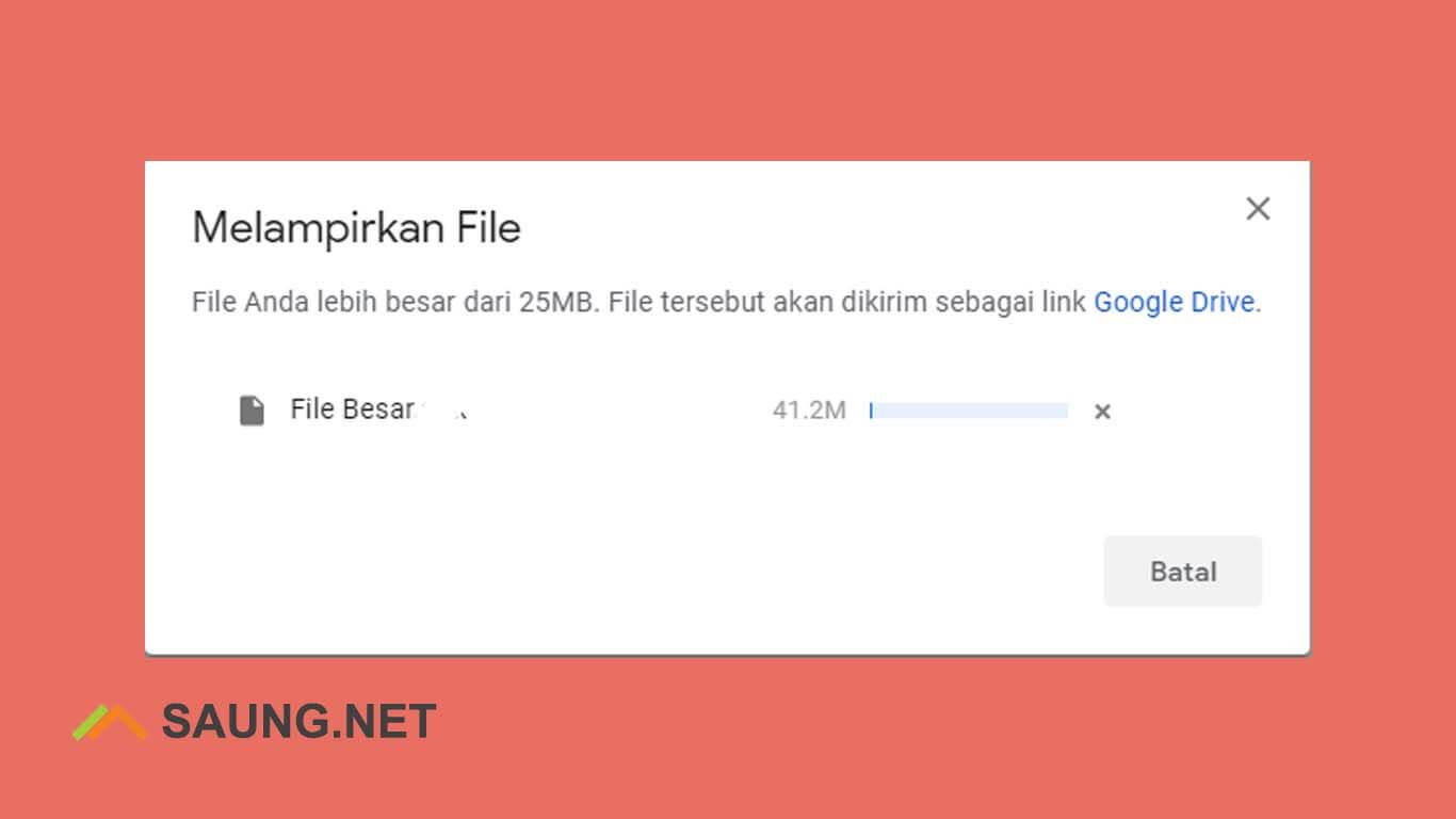 cara mengirim video lewat gmail lebih dari 20mb