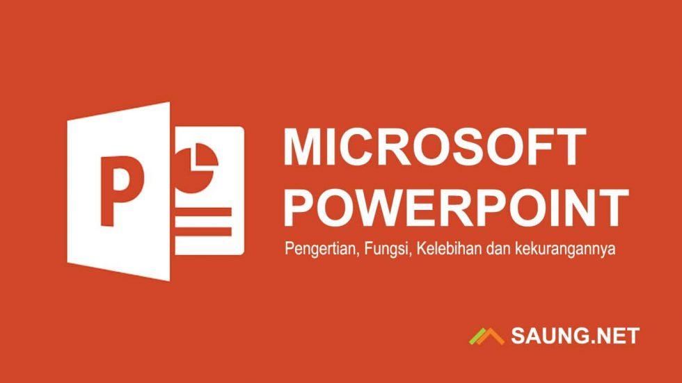 Pengertian Microsoft PowerPoint