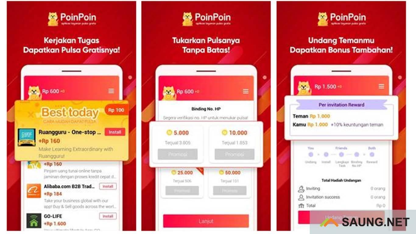 aplikasi pulsa gratis