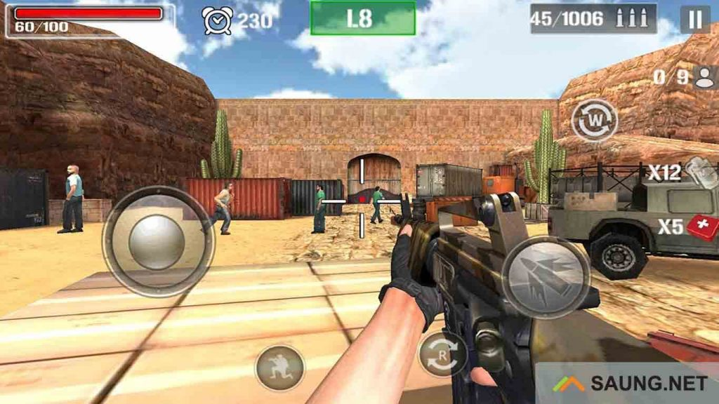 download game modern sniper mod