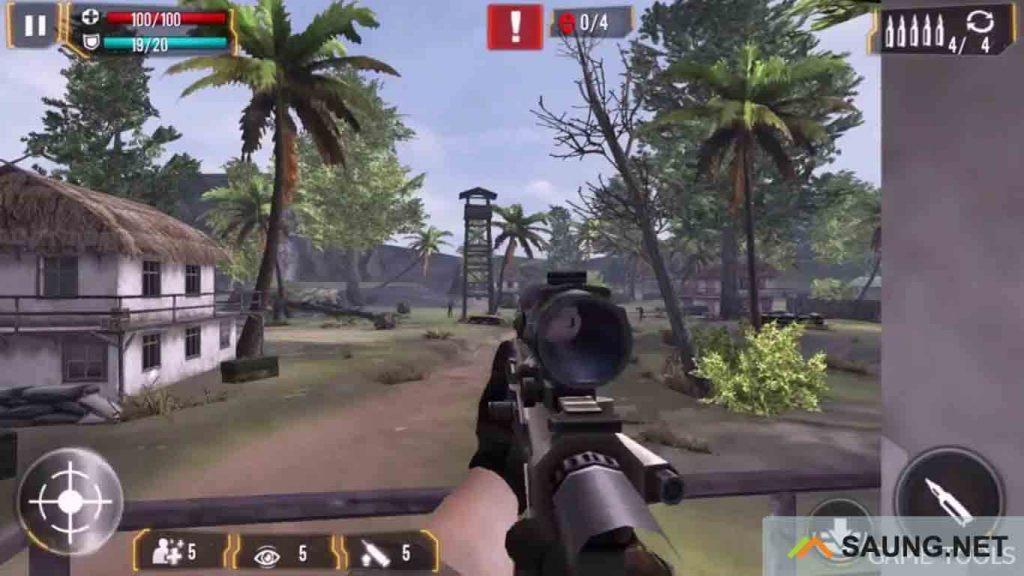 game sniper mod apk