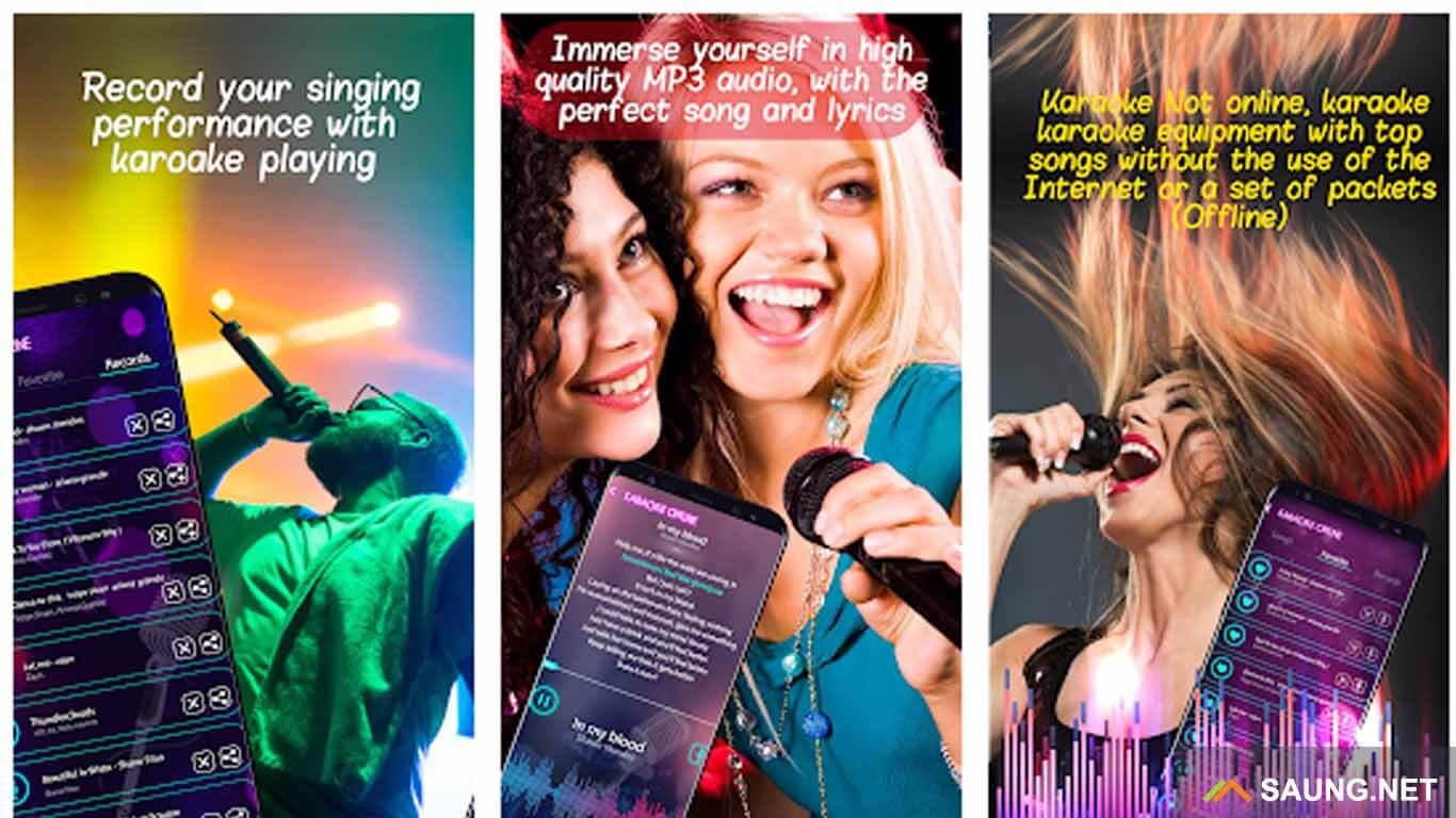 aplikasi karaoke yang bisa disimpan di galeri