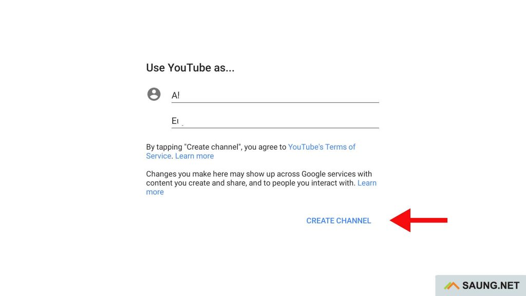 cara membuat channel youtube di handphone