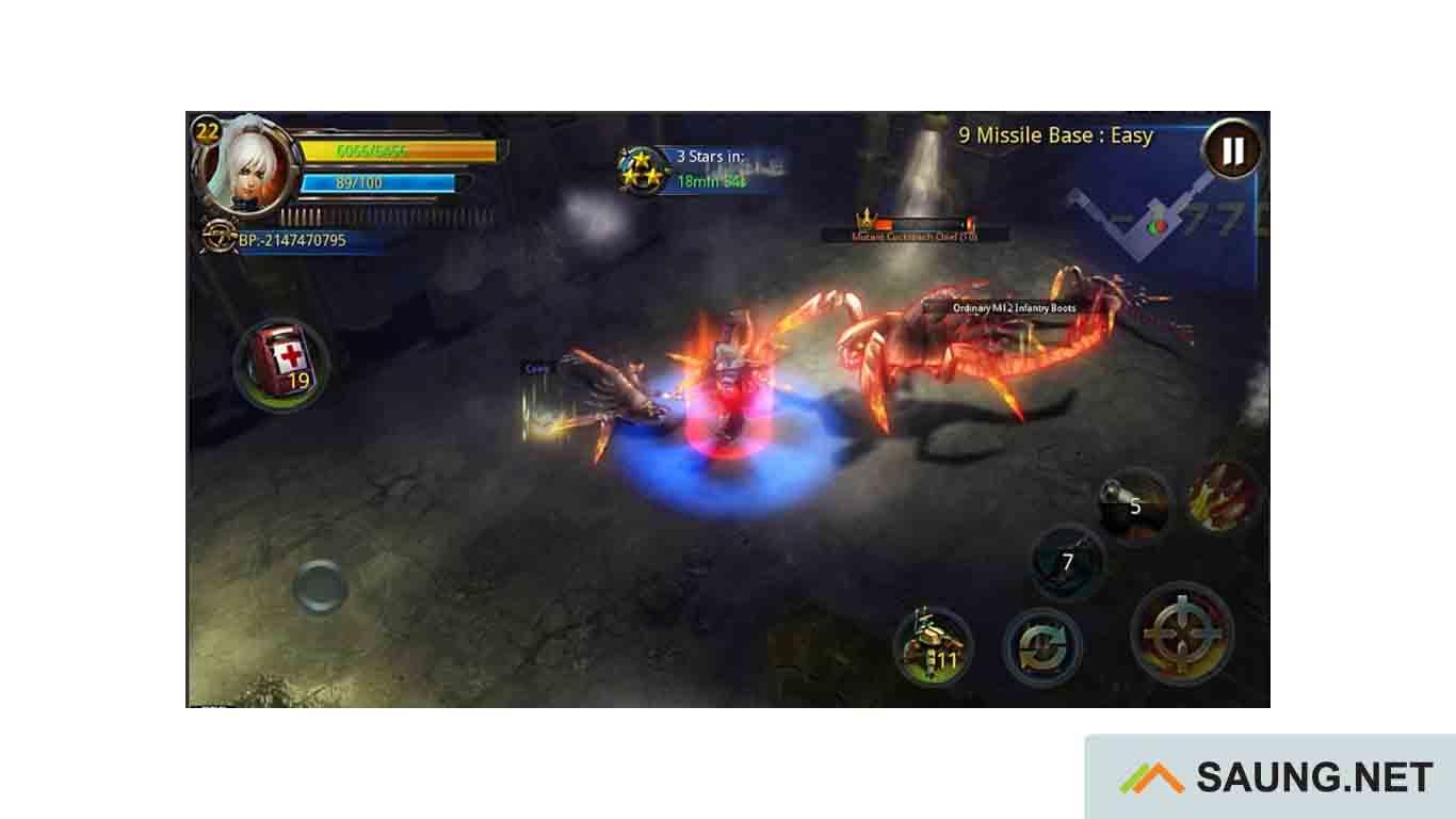 game moba offline mod apk