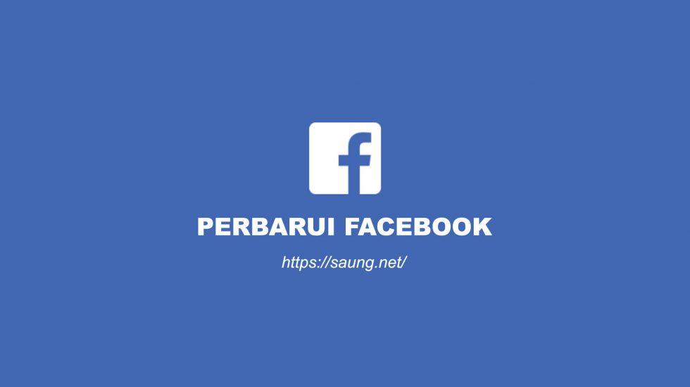perbarui facebook