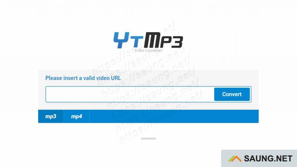 Download MP3 dari YouTube - ytmp3