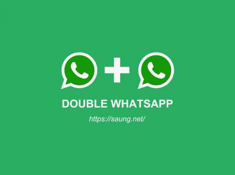 dua whatsapp dalam satu hp - clone whatsapp