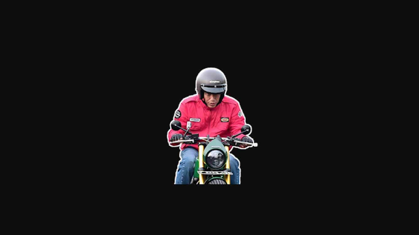 Stiker WhatsApp Jokowi Keren